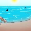 Comment éviter les requins tout en surfant