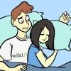 Comment éviter de piéger votre bras tout en se blottir dans son lit