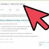 Comment faire pour sauvegarder une base de données