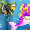 Comment être une sirène sur club penguin