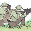 Comment être une équipe de sniper scout airsoft