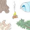 Comment construire un feu de camp