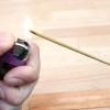 Comment graver bâton d'encens