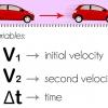 Comment calculer l'accélération