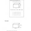 Comment calculer l'aire de surface d'un prisme rectangulaire