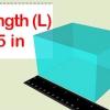 Comment calculer le volume d'un prisme rectangulaire