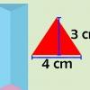 Comment calculer le volume d'un prisme triangulaire