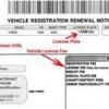 Comment changer l'adresse d'enregistrement de voiture texas