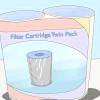 Comment nettoyer un filtre de la piscine de type cartouche