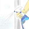Comment nettoyer les résidus de savon des portes de douche en verre