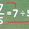 Comment convertir les fractions impropres dans nombres fractionnaires
