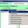 Comment créer une base de données clients