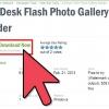 Comment créer une galerie de photos avec des vignettes en utilisant a4flash galerie photo constructeur