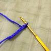 Comment crocheter un carré de damier