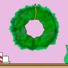 Comment décorer une couronne de feuilles persistantes en utilisant seulement de petites lumières