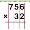 Comment faire à long multiplication