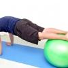 Comment faire push ups avec un ballon d'exercice
