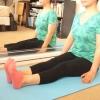 Comment faire l'angle lié inclinée poser dans le yoga