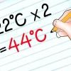 Comment estimer les températures de celsius en fahrenheit