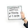 Comment organiser des réunions productives en utilisant des appels de conférence