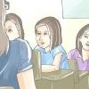 Comment faire face à assis à l'arrière de la salle de classe
