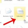 Comment concevoir un calendrier dans microsoft publisher