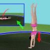Comment faire un front flip sur le trampoline