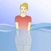 Comment faire le poirier dans la piscine