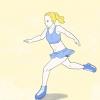 Comment faire un spin d'un pied en patinage artistique
