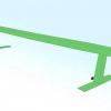 Comment faire un railslide sur des skis de neige
