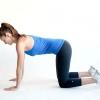 Comment faire un tronçon abdominale à quatre pattes