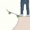 Comment déposer sur un half pipe