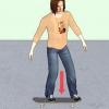 Comment fakie ollie sur un skateboard