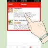Comment trouver et éditer un avis rédigé sur la cri pour l'iphone
