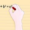 Comment trouver la longueur de l'hypoténuse