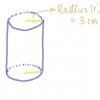 Comment trouver la surface des cylindres