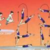 Comment salto avant sur un trampoline