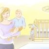 Comment obtenir un bébé à dormir dans un berceau