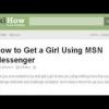 Comment obtenir une fille en utilisant msn messenger