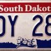 Comment obtenir une plaque d'immatriculation de spécialité dans le dakota du sud