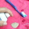 Comment faire pour obtenir la gomme à bulles sur les vêtements