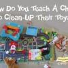 Comment amener les enfants à nettoyer