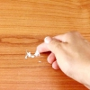 Comment obtenir les taches blanches sur sur bois