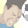 Comment à la tête un ballon de football pour un pass