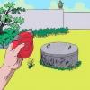 Comment cacher une colonne montante de fosse septique ou une casquette