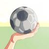 Comment taper dans un ballon