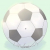 Comment taper dans un ballon de football dur