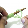 Comment tricoter un gant de toilette