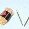 Comment tricoter sur des aiguilles circulaires