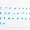 Comment apprendre l'alphabet à l'envers